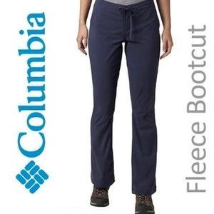 EUC, Columbia Grey Fleece Bootcut Pants, M